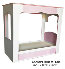 CANAOPY BED M-120