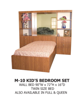 Bed Wall M-10