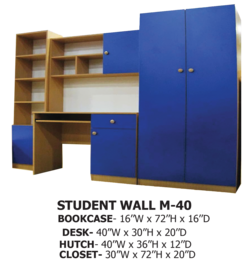 STUDENT WALL M-40