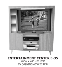 entertainment center E-35