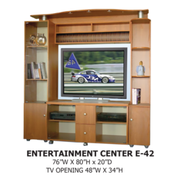 entertainment center E-42