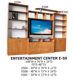 entertainment center E-50
