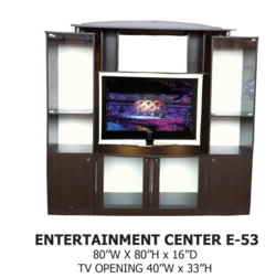 entertainment center E-53