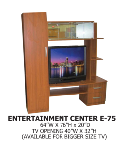 entertainment center E-75