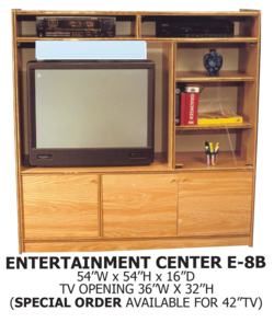 entertainment center E-8B