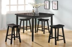 Huy Black Counter Height Table