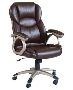 Barton Brown Bycast Pu Office Chair W/Pneaumatic