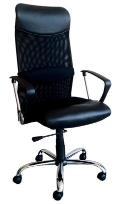Rafa Black Pneumatic Lift Office Chair