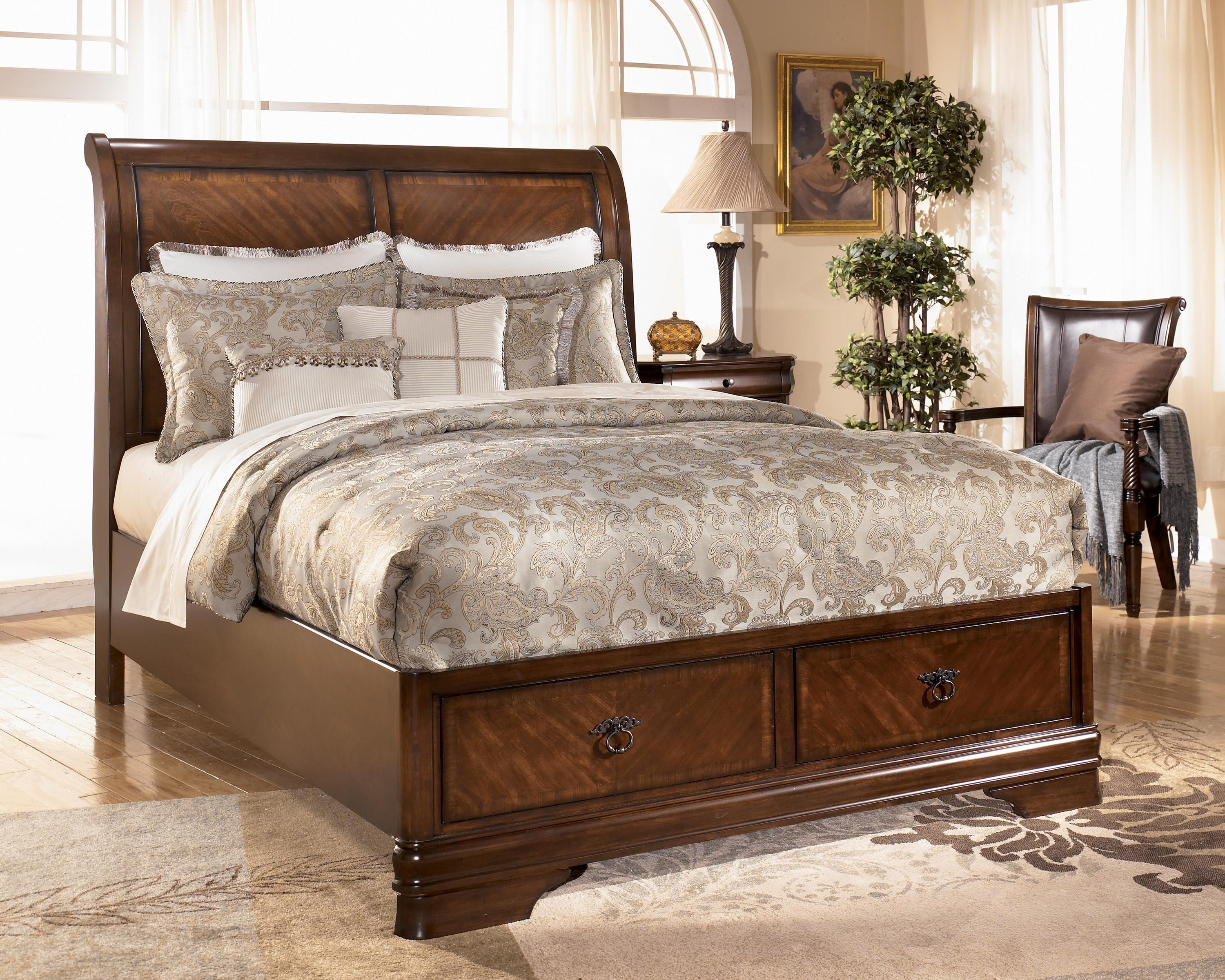 Ashley Furniture King Storage Bed 3000 x 2400