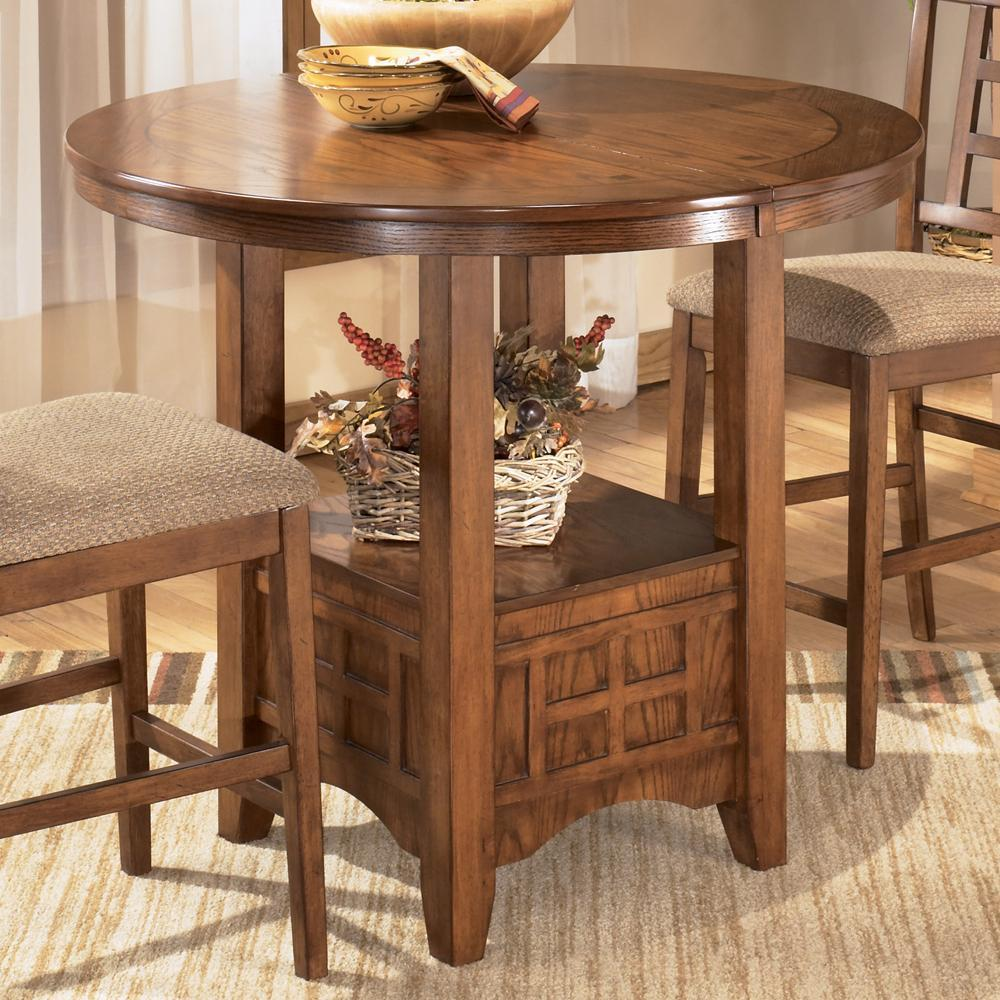 Cross Island Counter Height Extension Table from Ashley Furniture ...