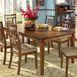 Cross Island Rectangular Extension Leg Table