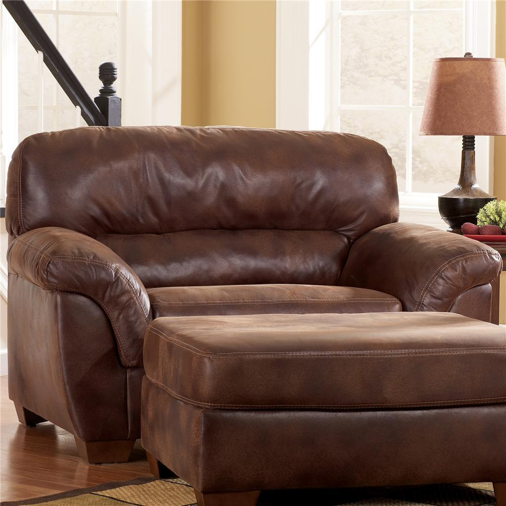 Ashley Furniture Leather Chair in a Half 1000 x 1000