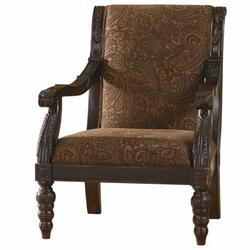 Bradington - Truffle Showood Accent Chair
