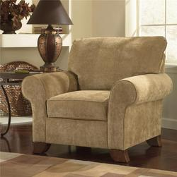 Townhouse - Tawny Chair w/ Rolled Arms