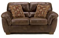 Frontier - Canyon Loveseat with Padded Armrests