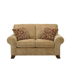 Townhouse - Tawny Loveseat w/ Rolled Arms