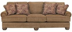 Richland - Amber Sofa with Rolled Arms and Bun Feet