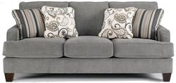 Yvette - Steel Stationary Sofa w/ Loose Seat Cushions