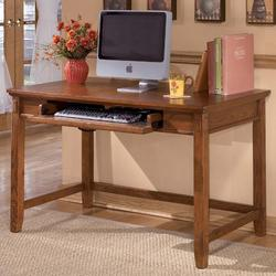 Cross Island Small Leg Desk with Keyboard Drawer