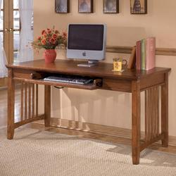 Cross Island Oak Large Leg Desk