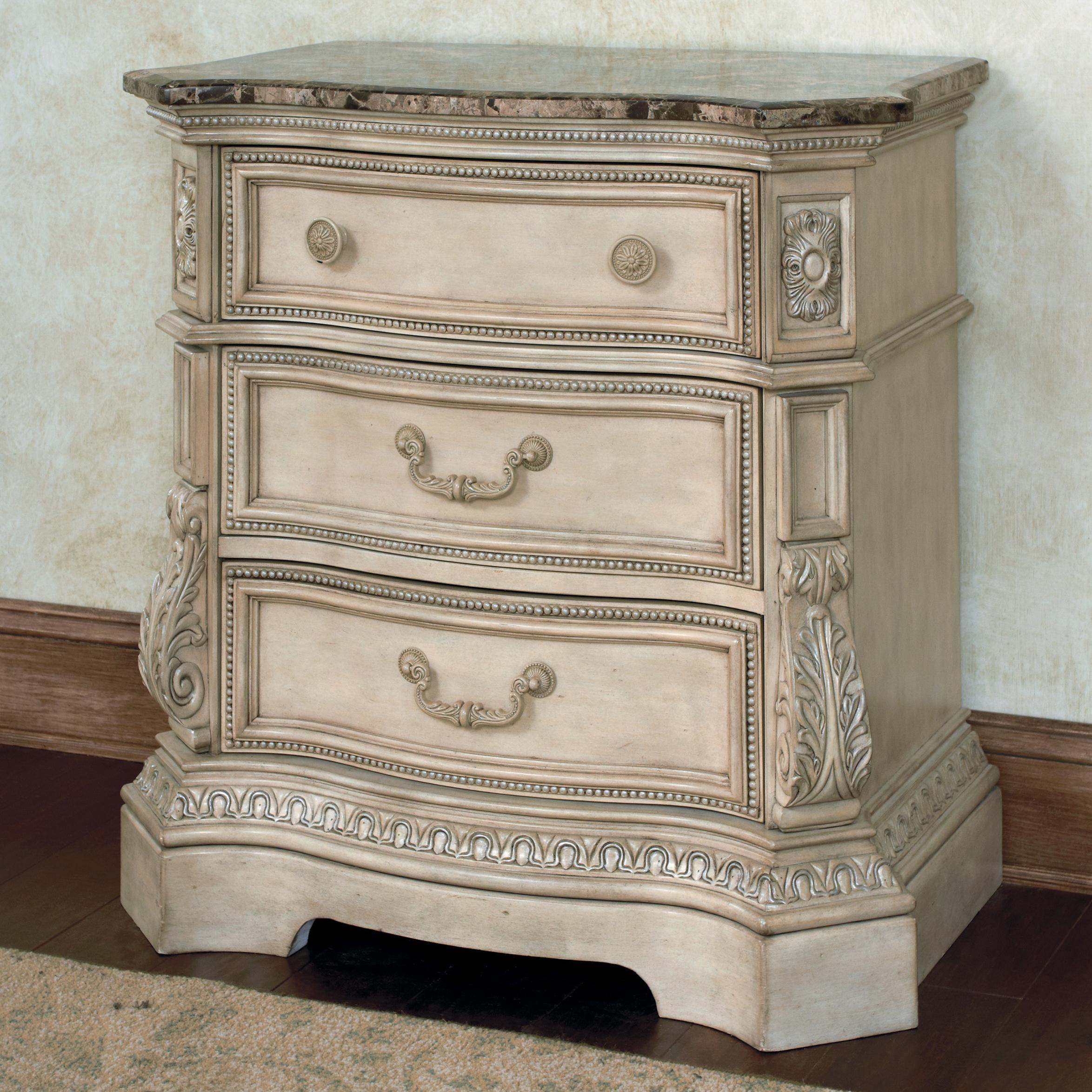 Ashley Furniture Night Stand with Marble Top 2348 x 2348