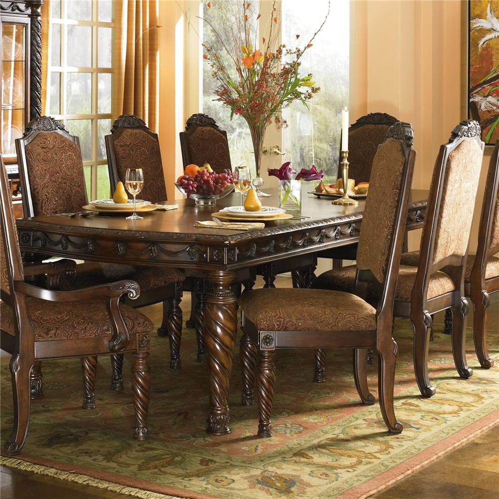 ashley furniture formal dining room sets on north s ashley furniture