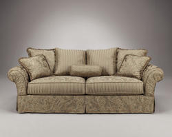 Isabel Silver Leaf Sofa