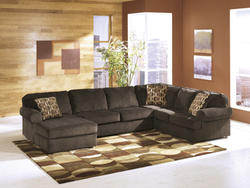 Vista Chocolate LAF Corner Chaise