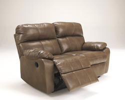 Windmaster Durablend® Taupe Reclining Power Loveseat
