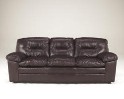 Demetrick Burgundy Sofa