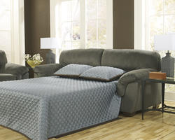 Coral Pike Pewter Full Sofa Sleeper