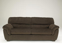 Coral Pike Chocolate Sofa