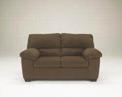 Zadee Chocolate Loveseat