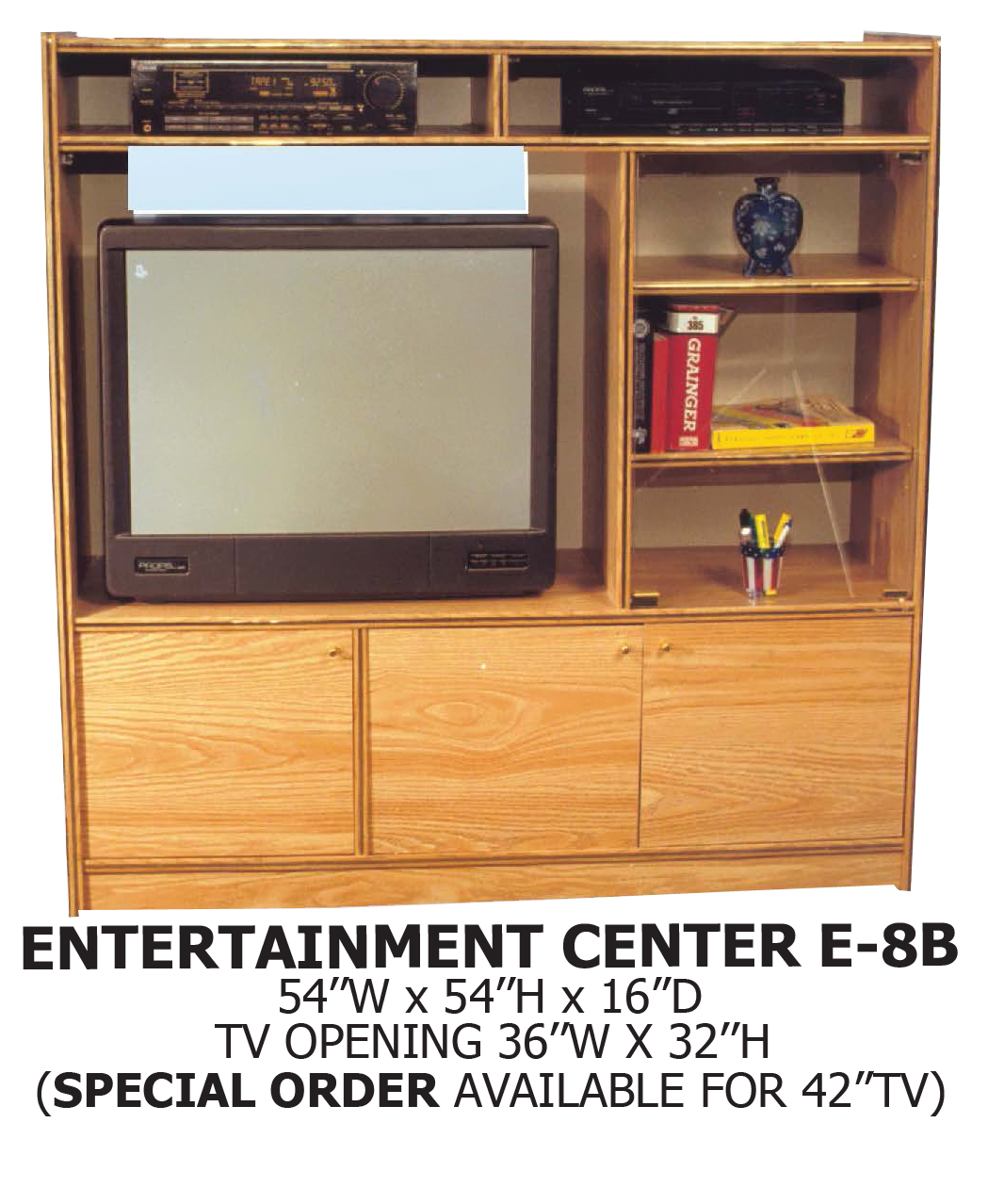 Entertainment Center Kitchen Set: Central Furniture Entertainment Center E-8B