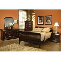 Louis Philippe 4 Piece Queen Bed Bedroom Group