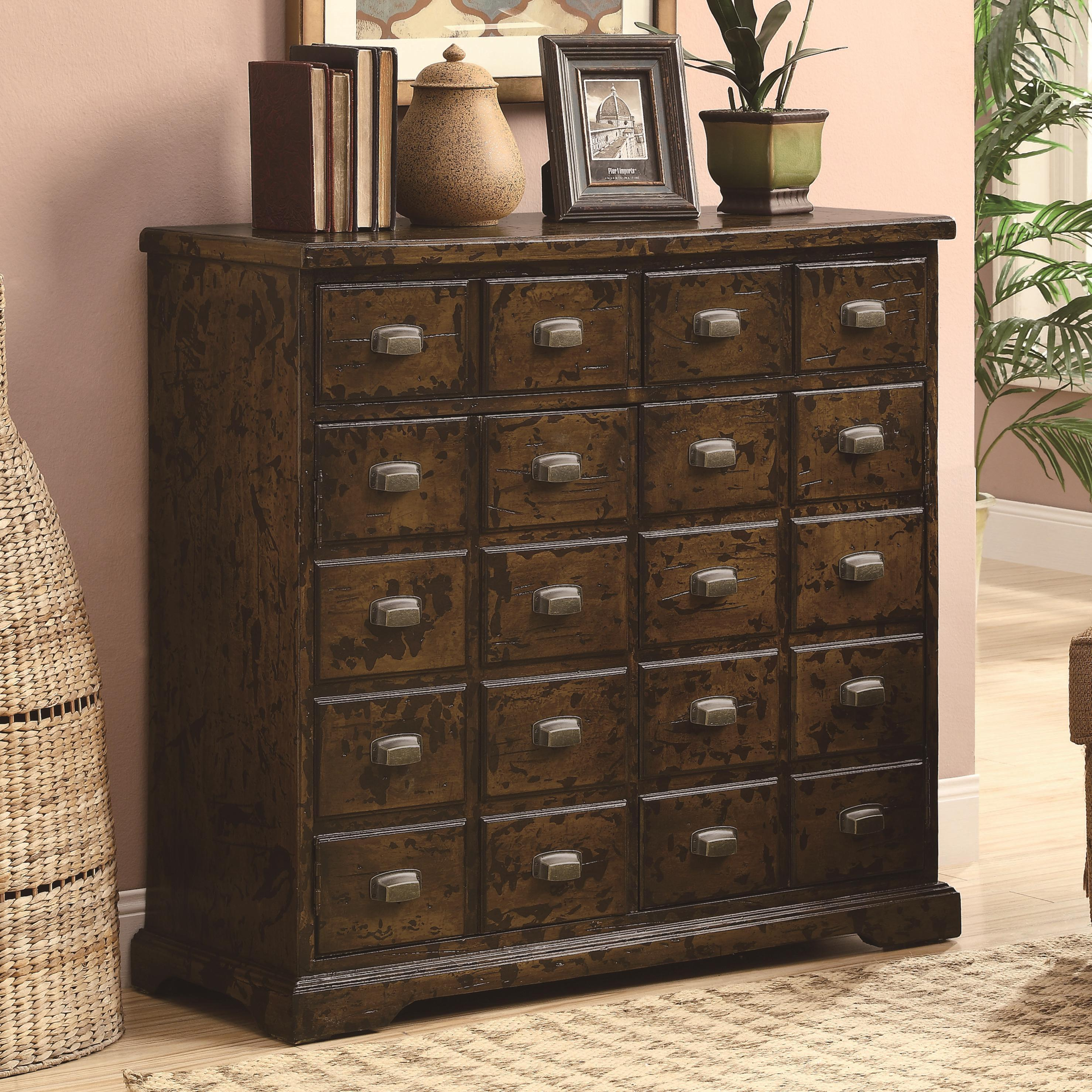 Accent Cabinets Apothecary Accent Cabinet From Coaster Beverly Hills Furniture In Jamaica New
