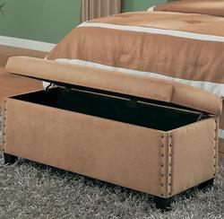 Lewis Upholstered Storage Bench