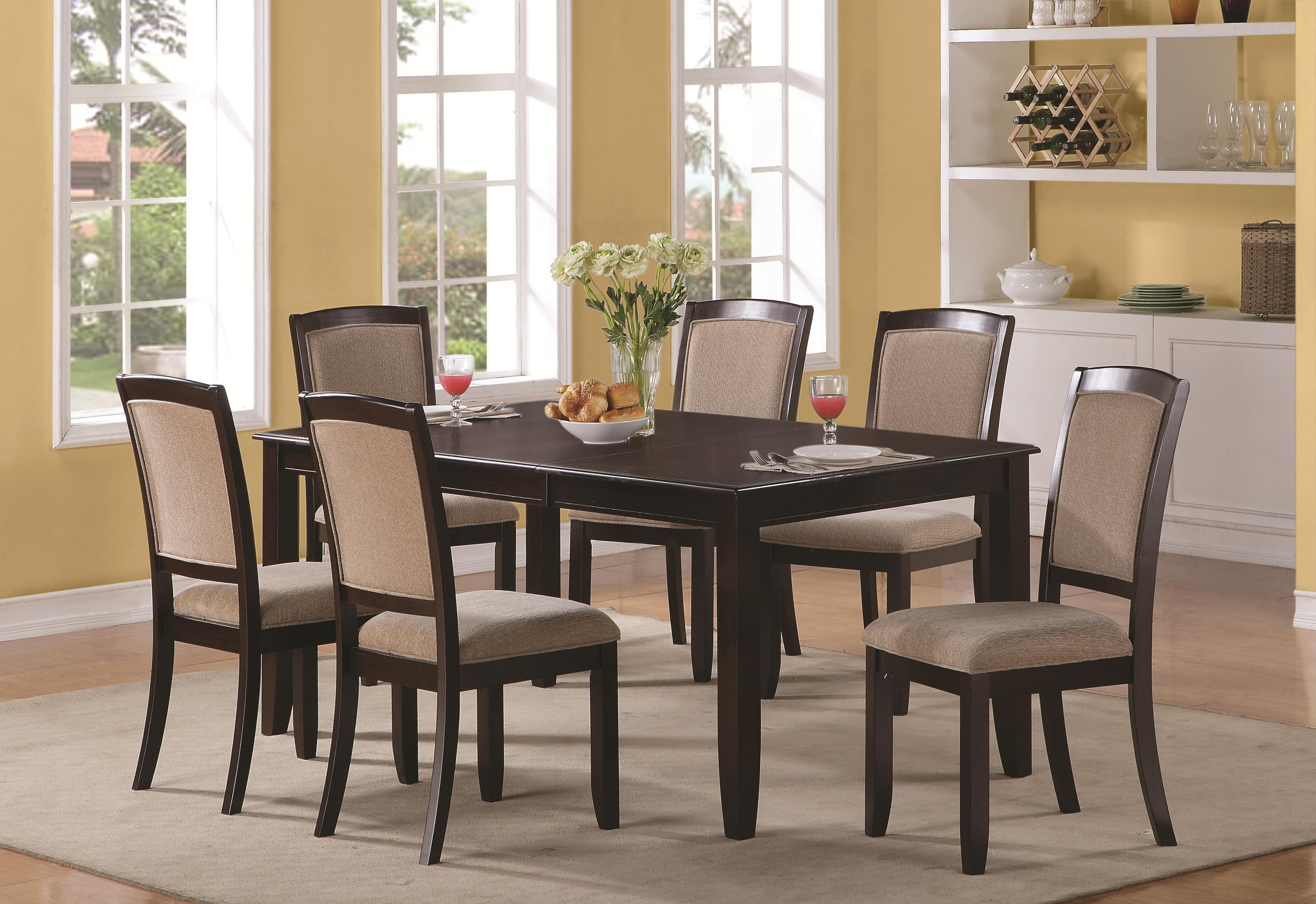 Sets Glass Counter Height Dining Set Tucker 7 Piece Counter Height