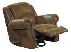 Rawlinson Casual Recliner with Nailhead Trim