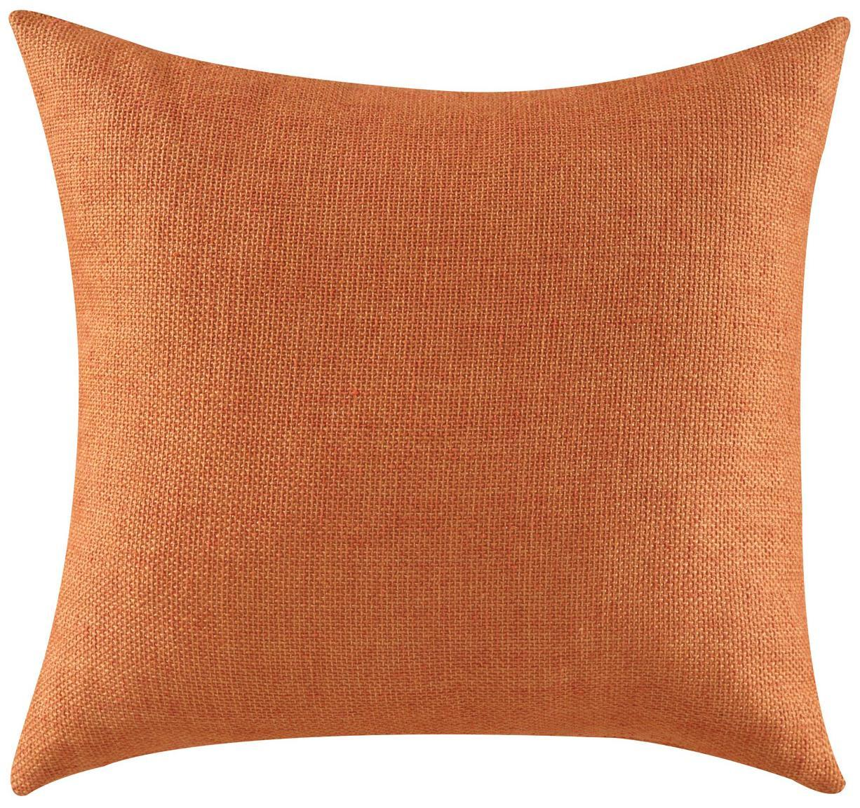 Throw Pillows With Orange : Throw Pillows Textured Orange Accent Pillow from Coaster Beverly Hills Furniture in Jamaica ...