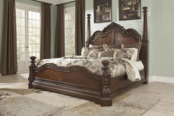 Ledelle Ledelle Traditional Queen Bed with Sleigh Headboard