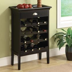 Richard Wine Rack W/Drawer Storage