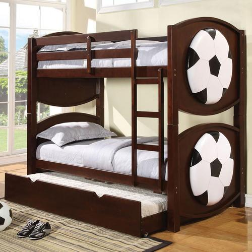 acme furniture all sports themed soccer bunkbed d 233 cor