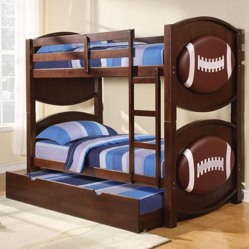 Acme Furniture All Star Sports Themed Football Bunkbed Décor