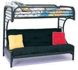 Youth Bunk Beds Contemporary Twin/Futon Bunk Bed