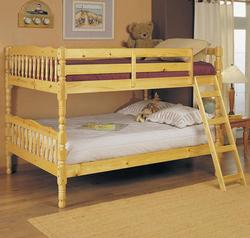 Homestead Natural Full Size Bunk Bed