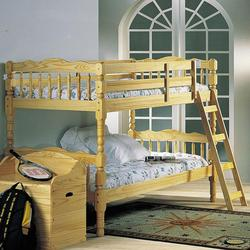 Homestead Natural Twin Size Bunkbed