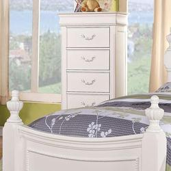 Classique Traditional Youth Bedroom Lingerie Chest