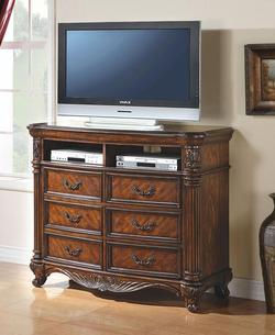 Remington Traditional 6-Drawer TV Console