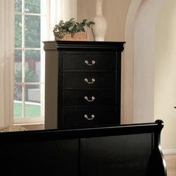 Louis Philippe III Transitional Chest of Drawers